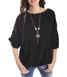SLIDE OF LIFE Blouse BLACK NEW COLLECTION SPRING 2015
