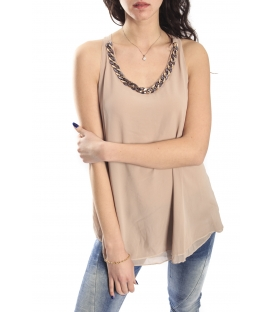 SLIDE OF LIFE Top/ T-shirt BEIGE NEW COLLECTION SPRING 2015