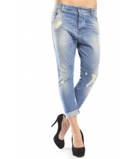 525 by Einstein jeans boyfriend 4 buttoni DENIM LIGHT P554528 NEW