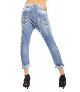 525 by Einstein jeans boyfriend 4 buttoni DENIM LIGHT P554528 NEW