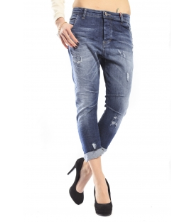 525 by Einstein jeans boyfriend 4 bottoni DENIM P554529 NEW