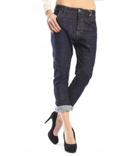 525 by Einstein jeans boyfriend 4 bottoni DARK DENIM P554530 NEW