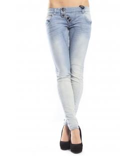 525 jeans slim fit 6 bottoni LIGHT DENIM P554505 NEW