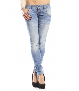PLEASE jeans 3 buttons slim fit DENIM P83LIGHT NEW
