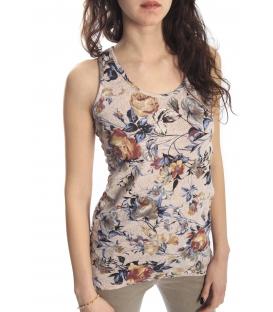 SUSY MIX Top T-shirt con fantasia fiori COLORS Art. 5209 NEW