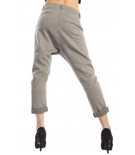 PLEASE jeans boyfriend baggy with zip fantasy GRÅ P908H212 NEW