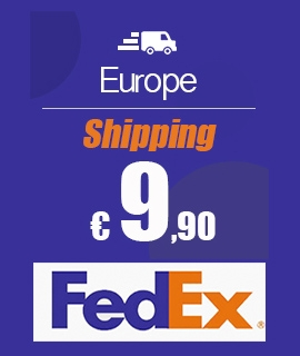 Shipping only 9.90 €